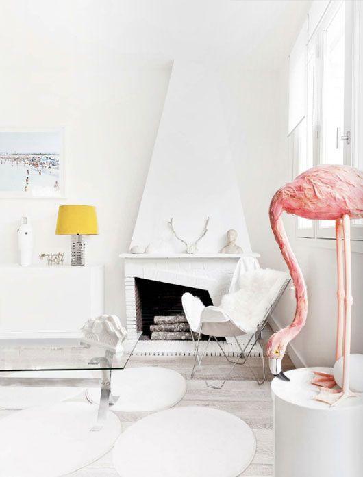 flamingo witte inrichting