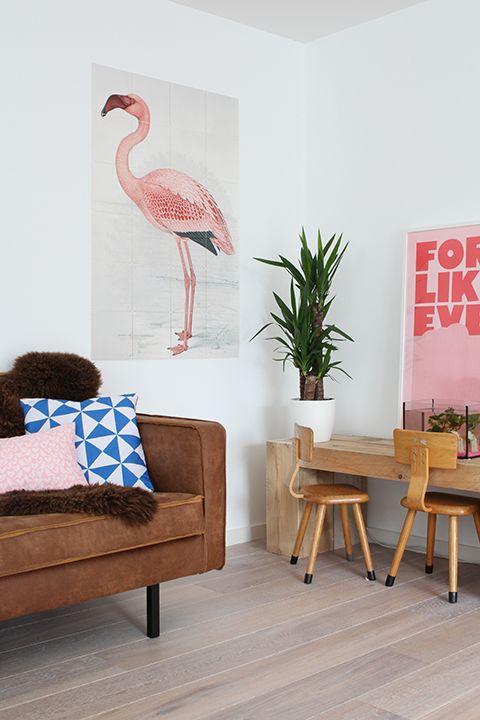 flamingo vintage interieur