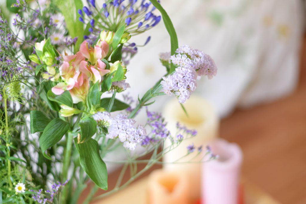 Crystal Die bloemen kaarsen