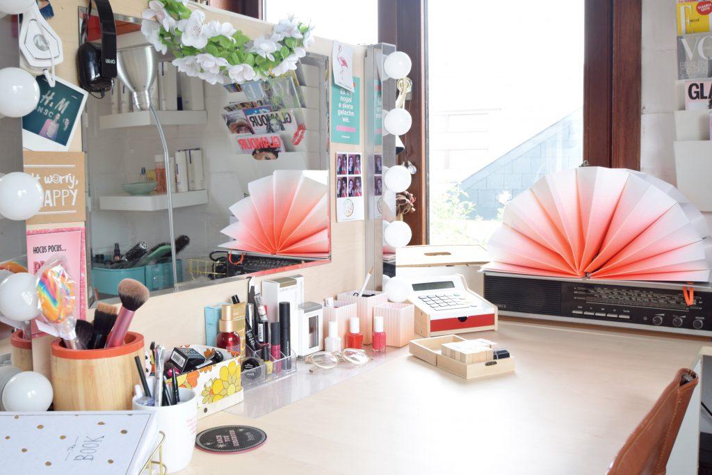 Crystal Die makeup artist interieur
