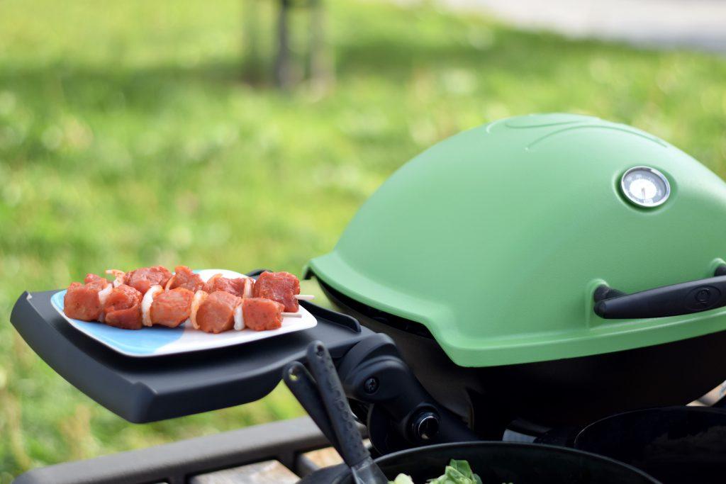 Weber grill vlees