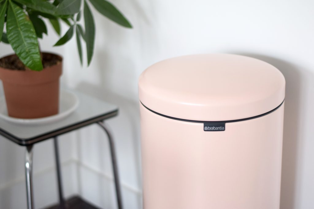Brabantia Clo Clo new icon pedaalemmer roze