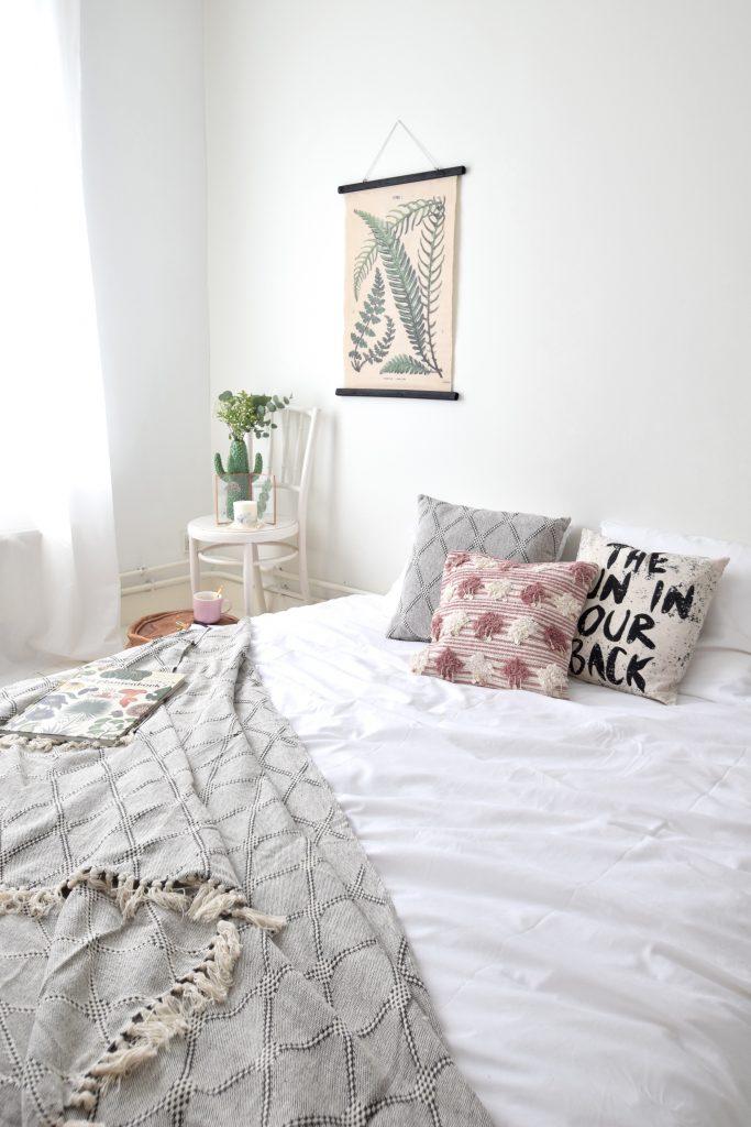 JUTTU slaapkamer botanical ethnic