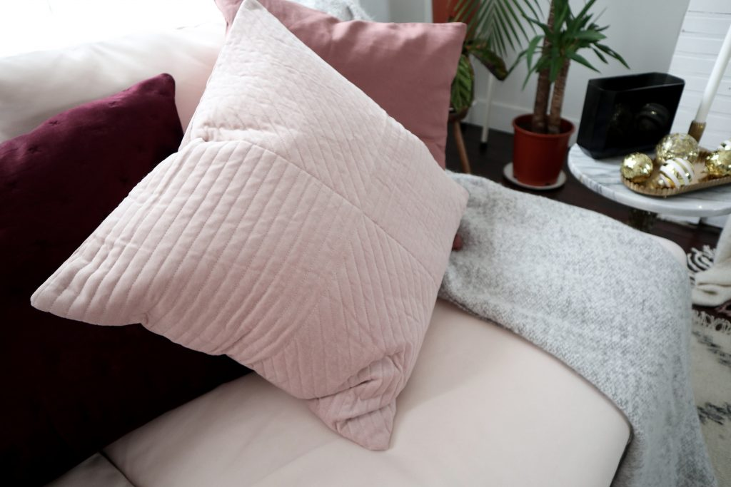 H&M Home cosy winter cushions