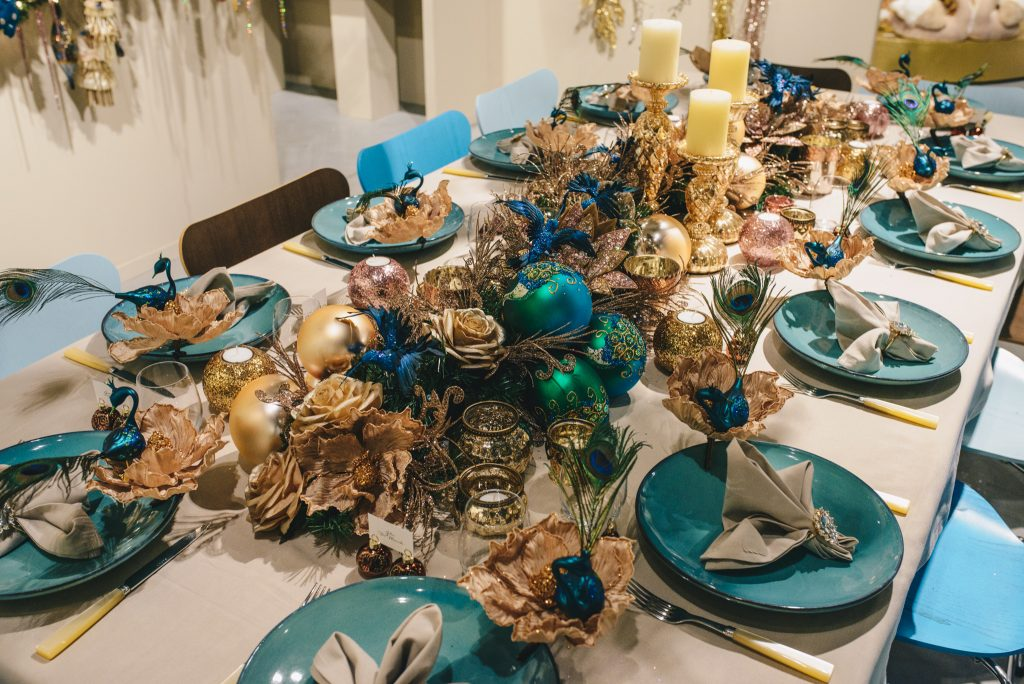 Goodwill Anne-Catherine tafeldecoratie kerstmis